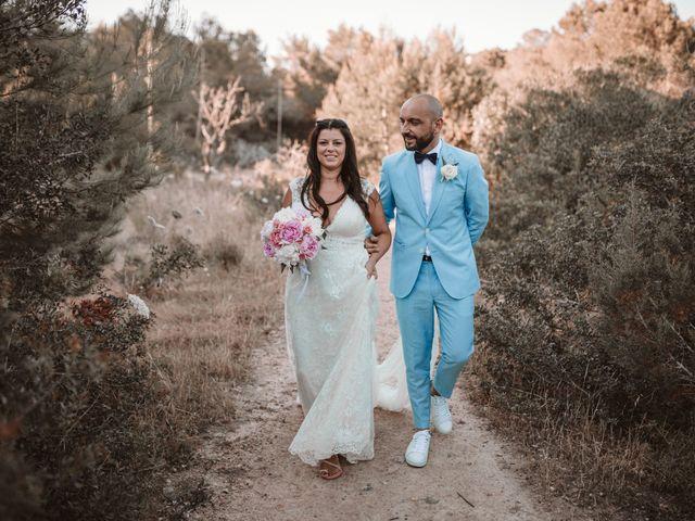 La boda de Christelle y Erol en Cala De San Vicente Ibiza, Islas Baleares 176