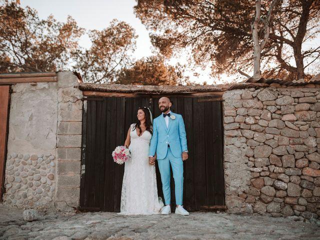 La boda de Christelle y Erol en Cala De San Vicente Ibiza, Islas Baleares 180
