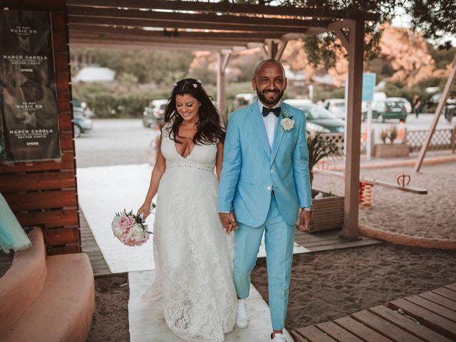 La boda de Christelle y Erol en Cala De San Vicente Ibiza, Islas Baleares 201