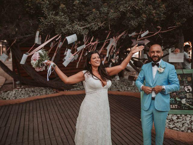 La boda de Christelle y Erol en Cala De San Vicente Ibiza, Islas Baleares 205