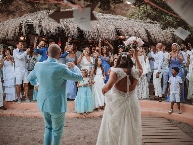 La boda de Christelle y Erol en Cala De San Vicente Ibiza, Islas Baleares 206