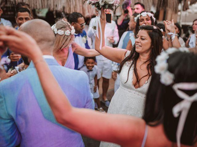 La boda de Christelle y Erol en Cala De San Vicente Ibiza, Islas Baleares 212