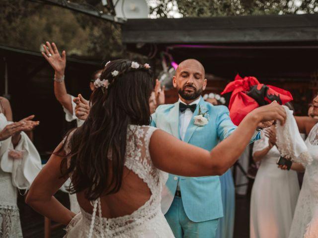 La boda de Christelle y Erol en Cala De San Vicente Ibiza, Islas Baleares 215