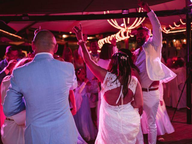 La boda de Christelle y Erol en Cala De San Vicente Ibiza, Islas Baleares 238