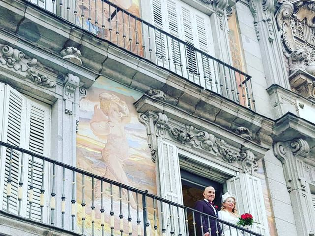 La boda de Cristian y Maica en Madrid, Madrid 1