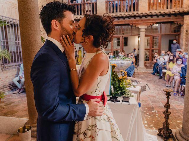 La boda de Rafa y Inés en Toledo, Toledo 55