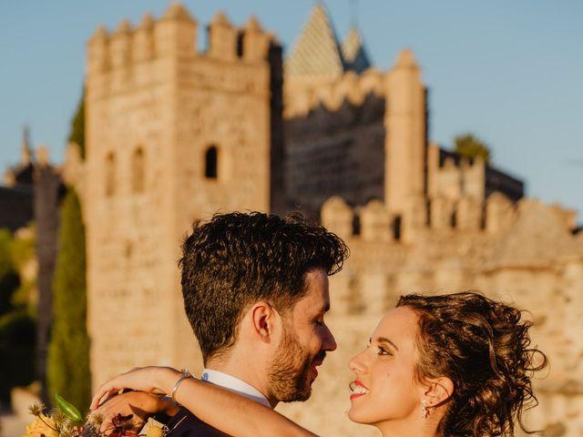La boda de Rafa y Inés en Toledo, Toledo 70