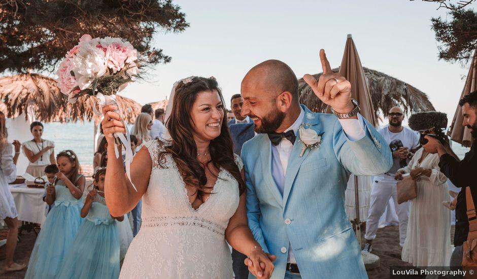 La boda de Christelle y Erol en Cala De San Vicente Ibiza, Islas Baleares