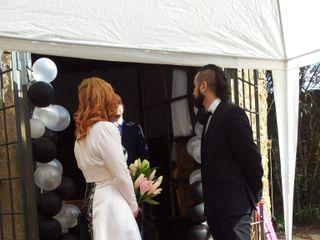 La boda de Brigitte y Xavy 1