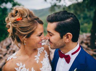 La boda de Charlotte y Marc