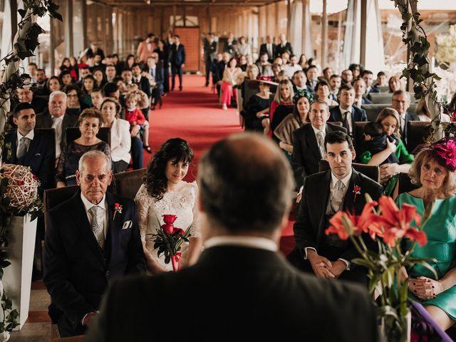 La boda de Carlos y Noelia en Ballesteros De Calatrava, Ciudad Real 36