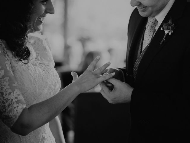 La boda de Carlos y Noelia en Ballesteros De Calatrava, Ciudad Real 43