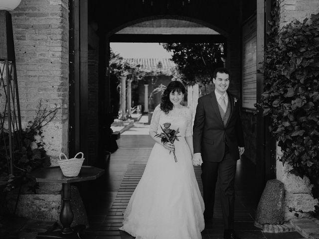 La boda de Carlos y Noelia en Ballesteros De Calatrava, Ciudad Real 48