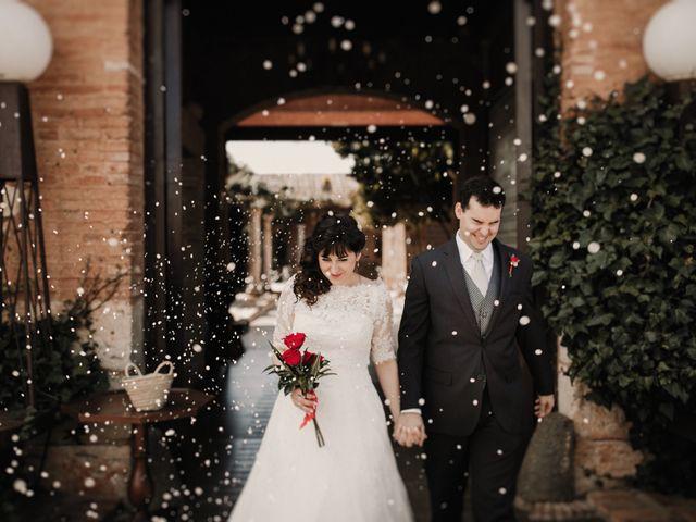 La boda de Carlos y Noelia en Ballesteros De Calatrava, Ciudad Real 49