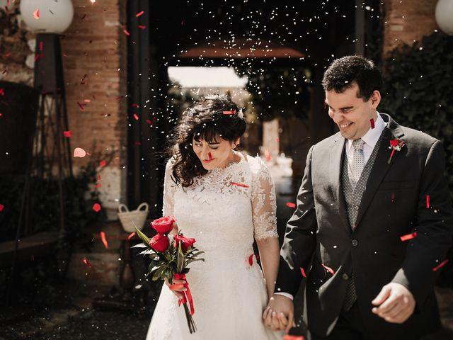 La boda de Carlos y Noelia en Ballesteros De Calatrava, Ciudad Real 50