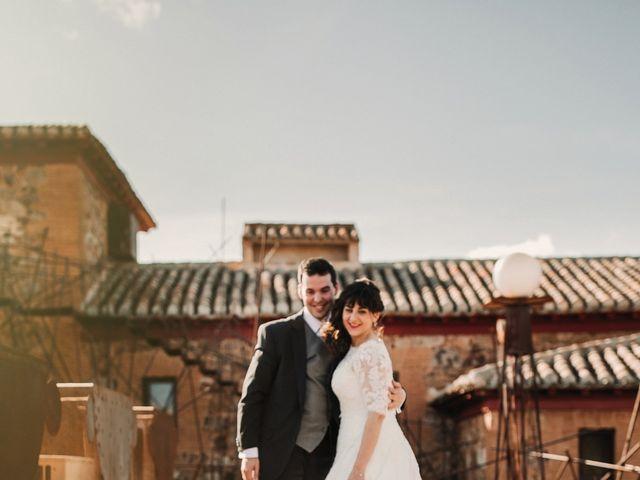 La boda de Carlos y Noelia en Ballesteros De Calatrava, Ciudad Real 59