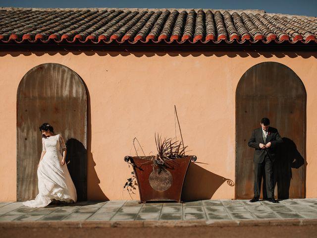 La boda de Carlos y Noelia en Ballesteros De Calatrava, Ciudad Real 60