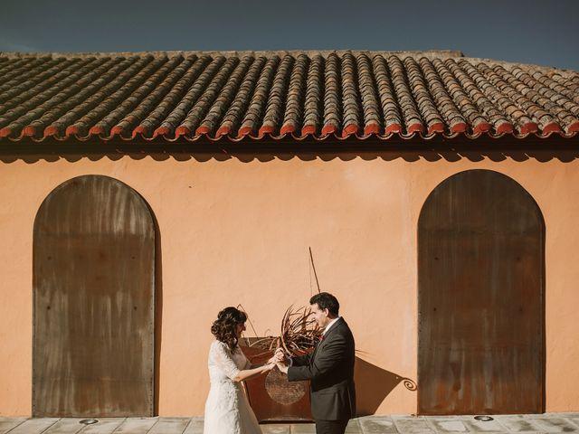 La boda de Carlos y Noelia en Ballesteros De Calatrava, Ciudad Real 62