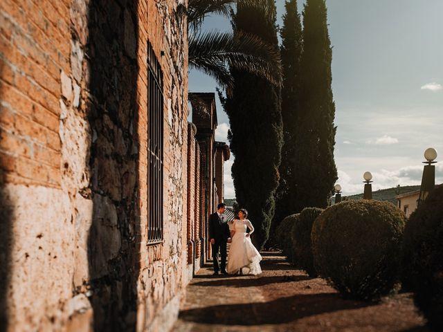 La boda de Carlos y Noelia en Ballesteros De Calatrava, Ciudad Real 63