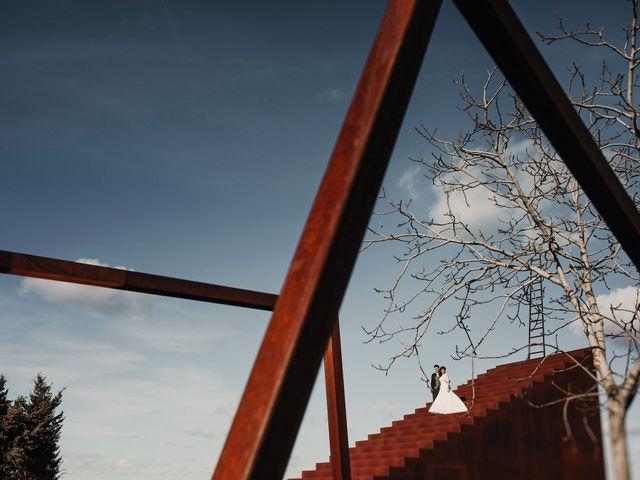 La boda de Carlos y Noelia en Ballesteros De Calatrava, Ciudad Real 70