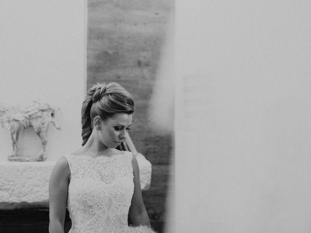 La boda de Iván y Cristina en Ballesteros De Calatrava, Ciudad Real 12