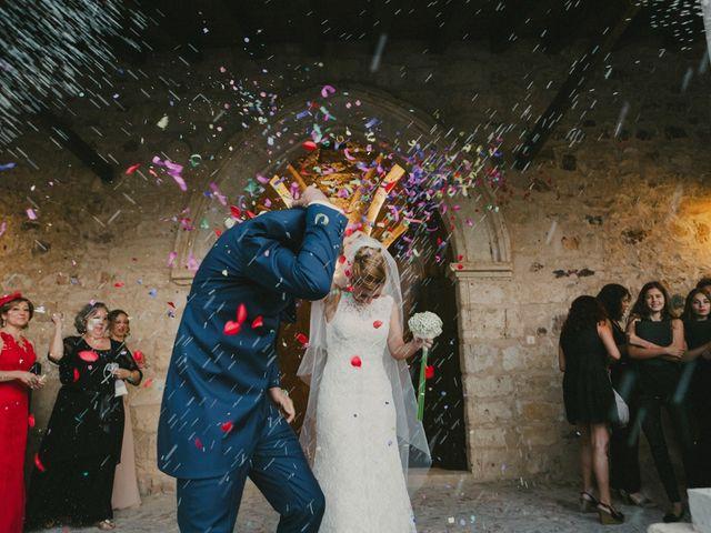 La boda de Iván y Cristina en Ballesteros De Calatrava, Ciudad Real 22