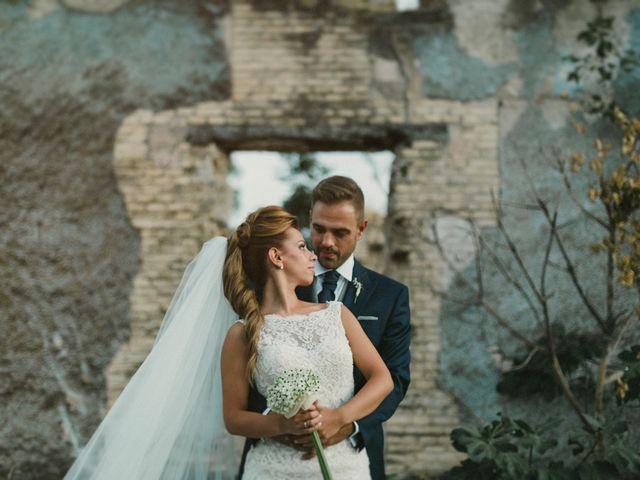 La boda de Iván y Cristina en Ballesteros De Calatrava, Ciudad Real 24