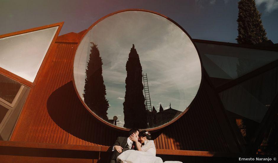 La boda de Carlos y Noelia en Ballesteros De Calatrava, Ciudad Real