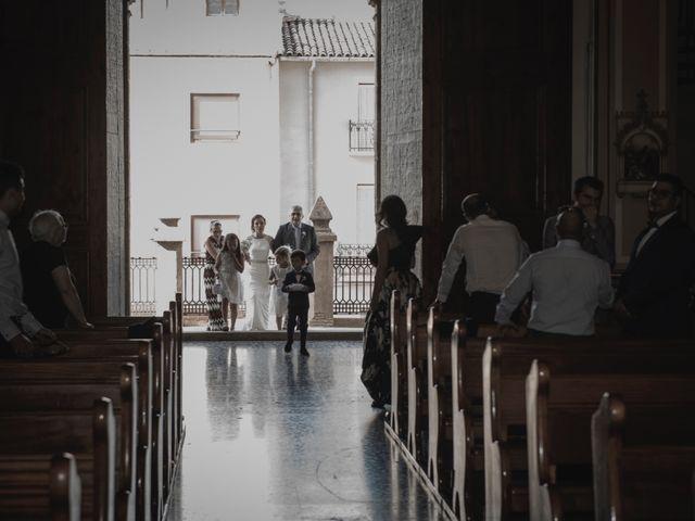 La boda de Sergio y Judith en Enguera, Valencia 31