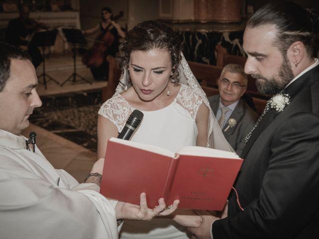 La boda de Sergio y Judith en Enguera, Valencia 34