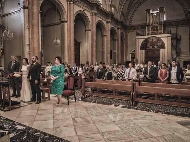 La boda de Sergio y Judith en Enguera, Valencia 39