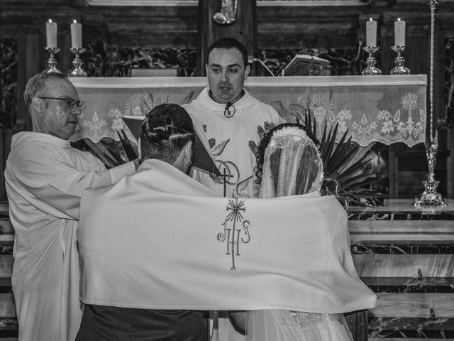 La boda de Sergio y Judith en Enguera, Valencia 40