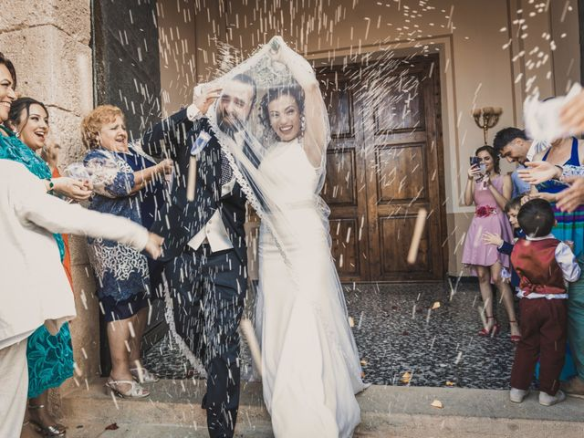 La boda de Sergio y Judith en Enguera, Valencia 41