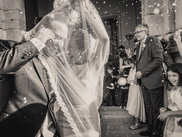 La boda de Sergio y Judith en Enguera, Valencia 1