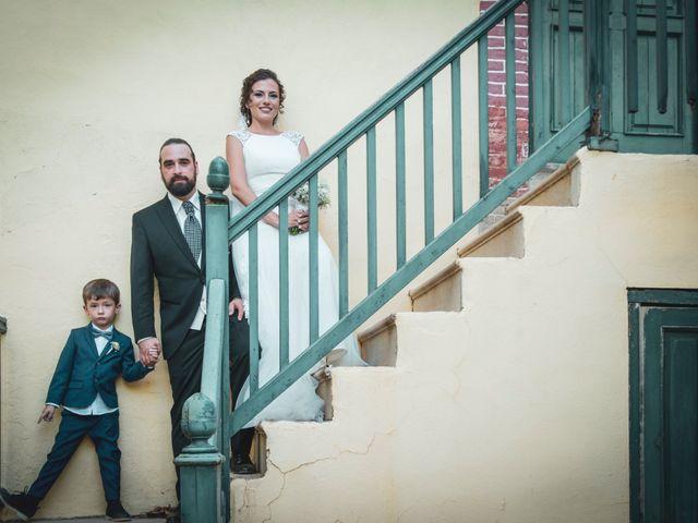 La boda de Sergio y Judith en Enguera, Valencia 50