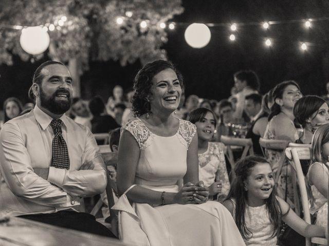 La boda de Sergio y Judith en Enguera, Valencia 75