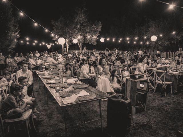 La boda de Sergio y Judith en Enguera, Valencia 76