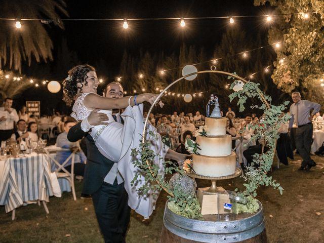 La boda de Sergio y Judith en Enguera, Valencia 80