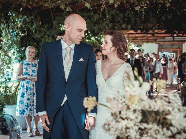 La boda de Stuart y Eva en Consuegra, Toledo 13