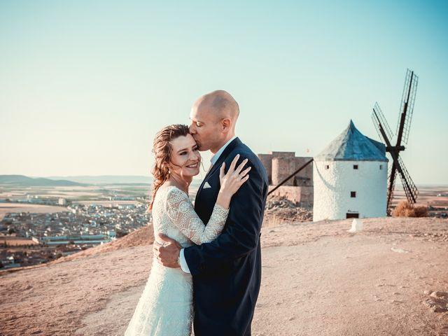 La boda de Stuart y Eva en Consuegra, Toledo 1