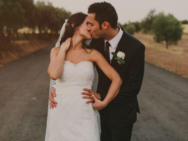 La boda de Alberto y Noelia en Carrion De Calatrava, Ciudad Real 16