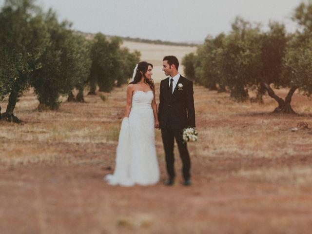 La boda de Alberto y Noelia en Carrion De Calatrava, Ciudad Real 17