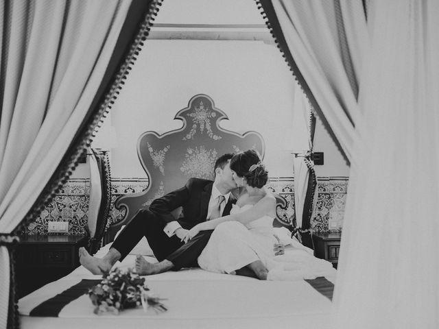 La boda de Alberto y Noelia en Carrion De Calatrava, Ciudad Real 25
