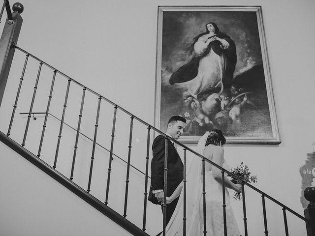 La boda de Alberto y Noelia en Carrion De Calatrava, Ciudad Real 30