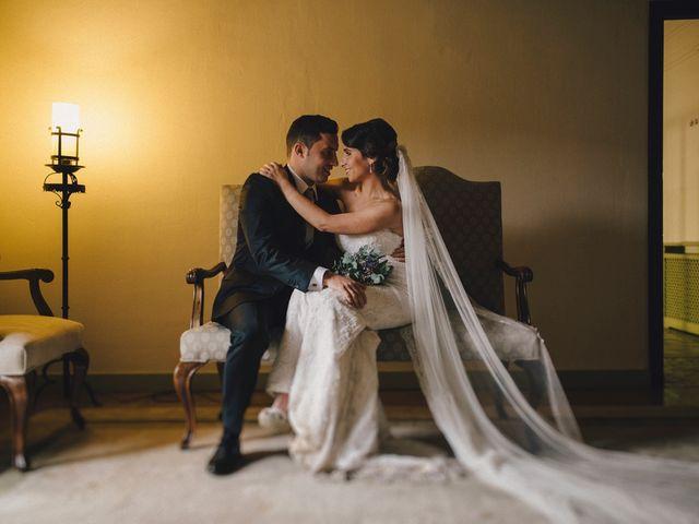 La boda de Alberto y Noelia en Carrion De Calatrava, Ciudad Real 1