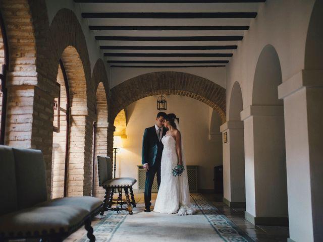 La boda de Alberto y Noelia en Carrion De Calatrava, Ciudad Real 34