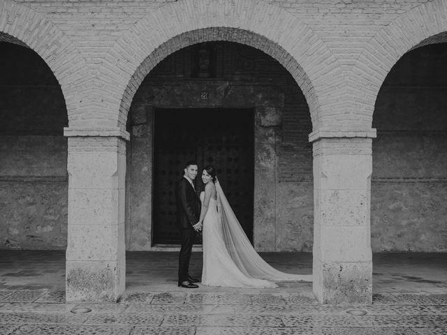 La boda de Alberto y Noelia en Carrion De Calatrava, Ciudad Real 43