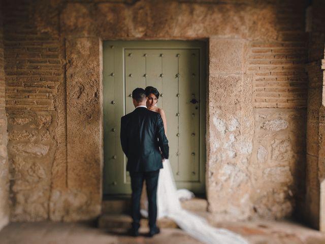 La boda de Alberto y Noelia en Carrion De Calatrava, Ciudad Real 44