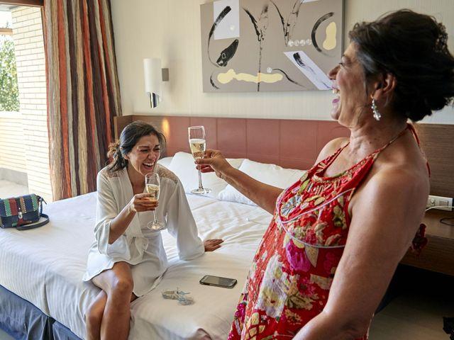 La boda de Carlos  y Andrea  en Alcalá De Henares, Madrid 2