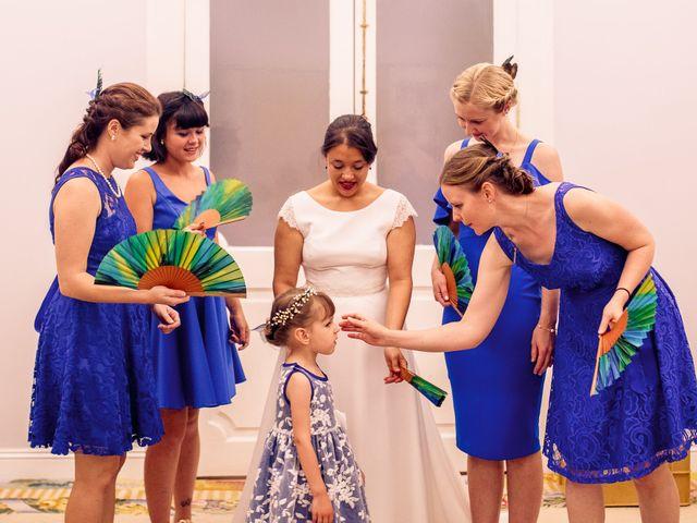 La boda de Luismi y Christina en Madrid, Madrid 19